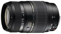 8. The Tamron AF 70-300mm Macro Zoom lens