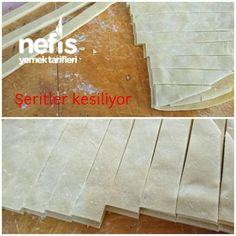 Ev Yapımı Erişte (Kesme Makarna) Tile Floor, Food And Drink, Flooring, Tile Flooring, Wood Flooring, Floor