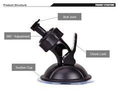 Car DVR Mount Holder for Sport DV sport GPS camera Stand 360 Degree Rotating dash cam holder car dvr bracket  http://playertronics.com/products/car-dvr-mount-holder-for-sport-dv-sport-gps-camera-stand-360-degree-rotating-dash-cam-holder-car-dvr-bracket/