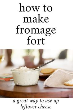 Fromage Fort Recipe Last Minute Appetizer, Quick Appetizers, Easy Appetizer Recipes, Easy Snacks, Party Dip Recipes, Snack Recipes, Freezer Soups, Wine Jelly, Party Sandwiches
