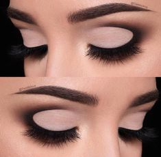 Rounded nude cut crease