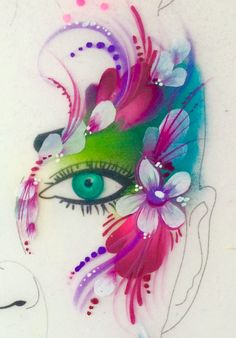 Children's Workshops | Saras Parlour Face Painting, glitter tattoos, parties, children's events, Bespoke make-up, festivals, Henna, workshops, training, Illustration, Murals...
