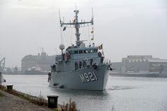 Belgian Navy minehunter M921 Lobelia Photo Jürgen Braekevelt – MIL.be