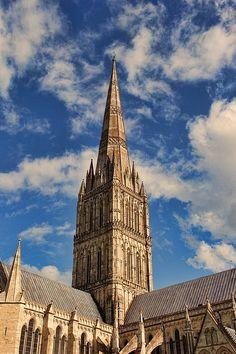 Salisbury Cathedral by Oscar Alvarez Jr Photography.....Fine Art prints for Sale.