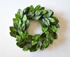 """24"""" wreath. Fabric. Please note, leaves will have to be turned and fluffed upon arrival. Wreaths are compacted for shipping."""