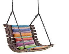 Swing Chair Designed by Angela Missoni is Made from Reclaimed Wine Casks | Inhabitots