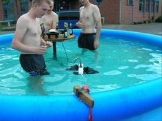 Or how pools work: | 25 Completely Scientific Reasons Why Women Live Longer Than Men