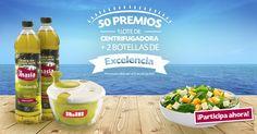 Bienvenida al VERANO: ¡LA MASÍA regala 50 LOTES de 2 BOTELLAS de Aceite de Oliva VIRGEN EXTRA EXCELENCIA y una CENTRIFUGADORA de la marca IBILI!