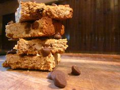 Around the Table: Loving Food in RI & Beyond : Chocolate Peanut Butter Granola Bars