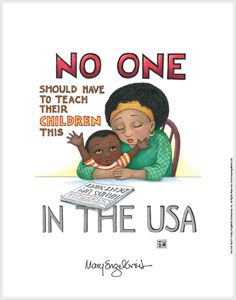 """In The USA"" Fine Print $49.99: All proceeds from the sale of this print will go to the Michael Brown Jr. Memorial Fund."