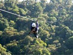 Monte Verde em Minas Gerais - tirolesa