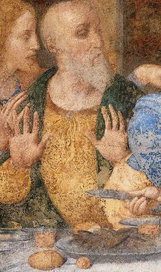 Love is in details. Discover the masterpiece of Leonardo da Vinci with the best guided tours in Milano. Last Supper tour guides. Info and booking: tour@milanoarte.net