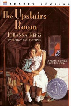 """The Upstairs Room"" by Johanna Reiss #bannedbooks #bannedbooksweek"