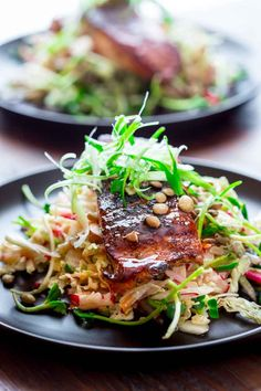 Blog post at Healthy Seasonal Recipes : This Jerk Spice Salmon with Hot and Sweet Slaw is a new addition to the best of Healthy Seasonal Recipes! It is Paleo and Gluten-free! Plus,[..]