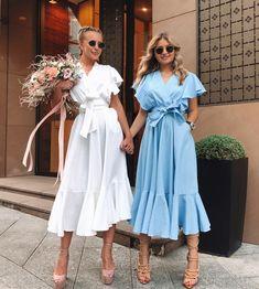 Best Skirt Outfits Part 12 Elegant Dresses, Cute Dresses, Casual Dresses, Summer Dresses, Look Fashion, Womens Fashion, Fashion Design, Fashion Tips, Dress Skirt