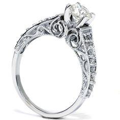 Image result for filigree engagement rings