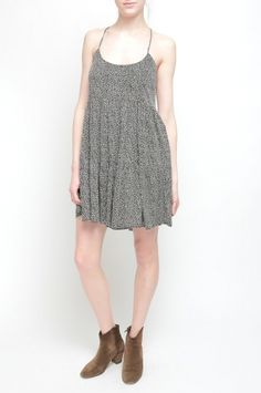 DAVIS DRESS from Walter Baker. 100% Polyester Adjustable straps Small Leopard  $188