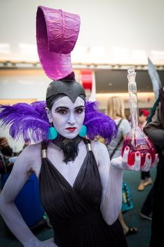 """PULL THE LEVER, KRONK!"" Great Yzma! #SDCC"