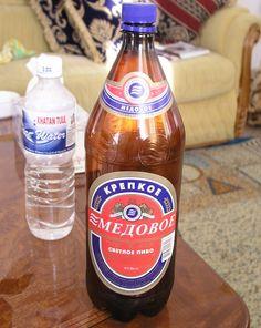 Beer in Plastic bottle
