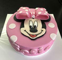 Mini Mouse taart, februari 2017