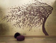 Tapeten Wandbild 08 Blüten im Wind 22 karat Weißgold online kaufen