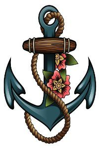 Anchor Tattoos for Girls www.facebook.com/florestattoos2013