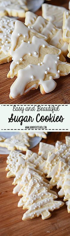Makes the perfect food gift for the holidays #christmascookies #cookies
