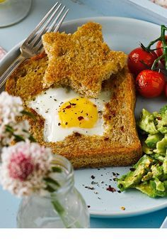 Sure to make mum feel like a star, this eggy breakfast takes just 15 minutes to make.