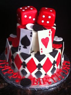 Having a casino themed birthday party when one turns over the hill sounds exiting.