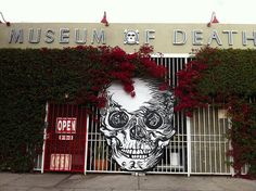 "The Museum of Death, Los Angeles, California: According to its website, the museum features ""the world's largest collection of serial murderer artwork, photos of the Charles Manson crime scenes, the guillotined severed head of the Blue Beard of Paris (Henri Landru), original crime scene and morgue photos from the grisly Black Dahlia murder, a body bag and coffin collection, replicas of full size execution devices, mortician and autopsy instruments, pet death taxidermy, and so much more!"""