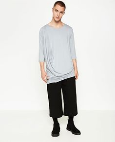 ZARA - COLLECTION AW16 - DARK T-SHIRT