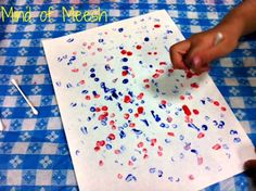 QTip Painting with Kids