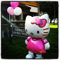 life size hello kitty balloon - as tall as a child