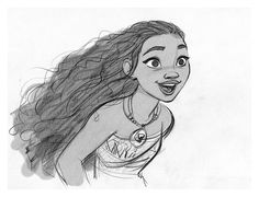 """""""Moana"""" by Jin Kim* • Character Design © 