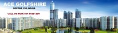 Ace Golfshire Noida is a residential project by ACE Group that promises posh and polished residential option to people. Set in Noida Sector the project enjoys strategic location as sector 150 is amongst the most up and coming areas in Noida.