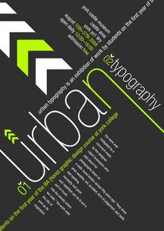 Urban Typography 25 Creative Typography Poster Design