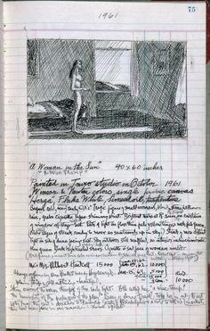 edward hooper, sketch (women in the sun)