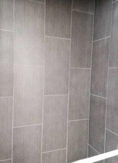 bath / Ideen Bad Fliesen Dusche vertikal Bedding – Unwind In Its Luxurious Folds Your bedro 12x24 Tile Patterns, Shower Tile Patterns, Shower Tile Designs, Bathroom Designs, Master Bathroom Shower, Small Bathroom, Bathroom Ideas, Bath Shower, Handicap Bathroom