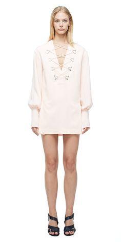 Dresses | MILITARY BLOUSON MINI DRESS