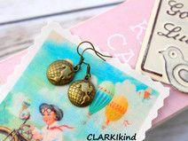 Ohrringe Bronze Globus von CLARKIkind