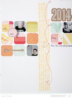 This makes me want to scrapbook. Mornings *Main Kit Only* by April Foster at @Studio_Calico