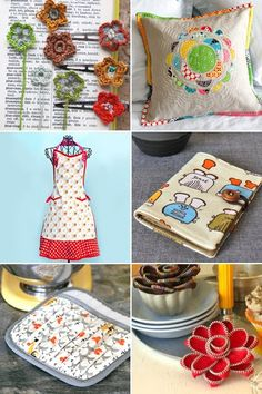 Cute things to make by hand.... though I'm more inclined to pull out the sewing  machine to save a bit of time!