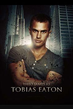 Theo james as TOBIAS EATON ♥