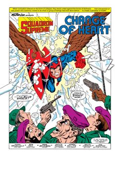 Squadron Supreme (1985) Issue #4 - Read Squadron Supreme (1985) Issue #4 comic online in high quality