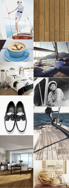 NAUTICAL DREAM | Kährs #Marina Collection's beautiful shipsdecking floors are inspired by the #sea, and are as unique as they are #elegant in natural Swedish oak, with contrasting strips and oiled surface. The beautiful Oak/Dark Strip Marbella wood floor creates a #maritime feel in the home all through the year.