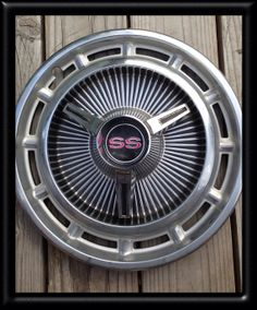 1965' Chevy SS Hubcaps by DucoteArte on Etsy, $35.95