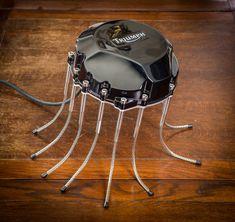 A Triumph Tiger 900 gearbox part reincarnated into an elegant desk lamp. Triumph Tiger, Conceptual Art, Buy Art, Spider, Saatchi Art, Original Art, Sculpture, The Originals, Desk Lamp