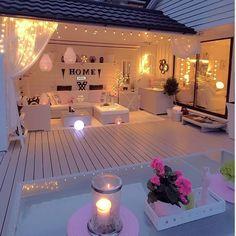 31 awesome backyard patio deck design and decor ideas 1 ⋆ All About Home Decor Patio Garden Ideas On A Budget, Patio Diy, Patio Pergola, Backyard Patio, Backyard Landscaping, Patio Ideas, Backyard Ideas, White Pergola, Pergola Ideas