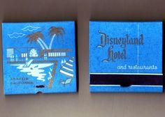 vintage disneyland hotel matches. gimme