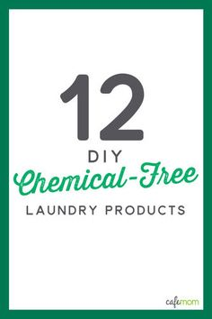 Every time we're doing laundry, we're struck by just how many chemicals go into the whole process. But most -- if not all -- of the chemicals involved in the washing/drying/stain removing/softening process can be replaced by natural alternatives ... if you know where to look.